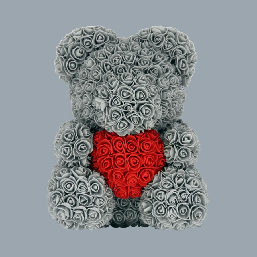 Gray Teddy Bear 45cm