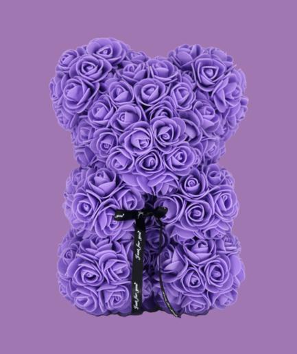 Gray Teddy Bear 25cm